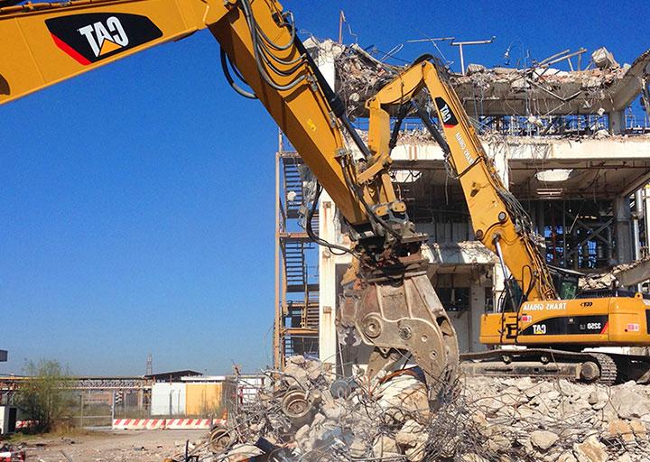 Demolizioni controllate Roma